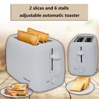 SOKANY 2 Slices Stainless Steel Toaster Automatic Fast Heating Bread Toaster Household Breakfast Maker Kitchen Tool