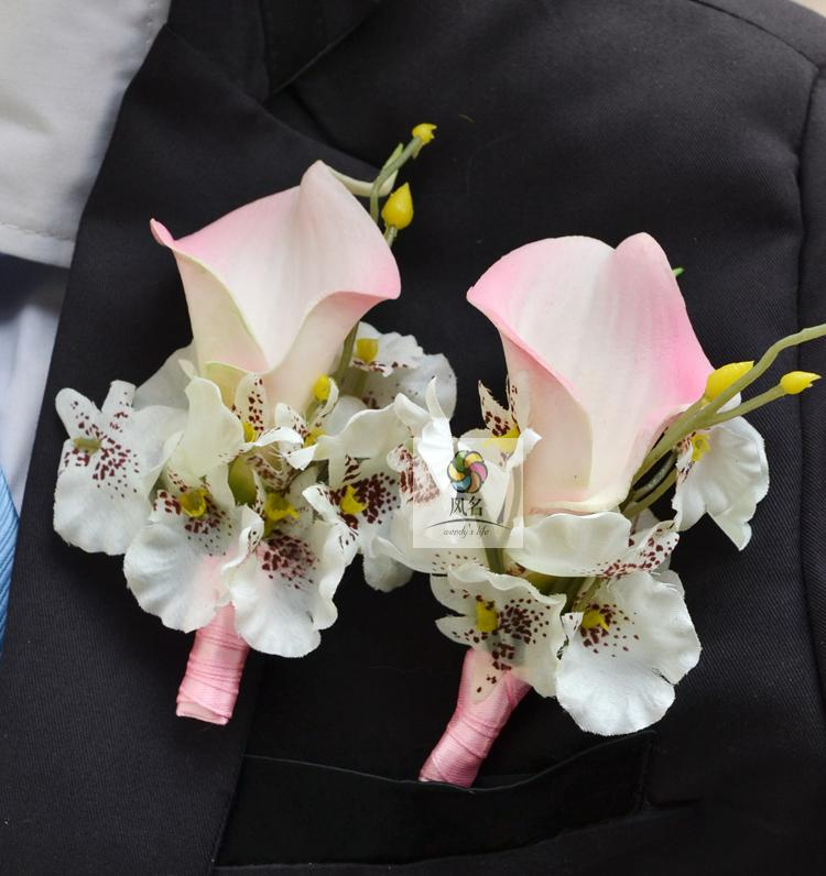 popular wedding corsage flowers yellowbuy cheap wedding corsage, Natural flower