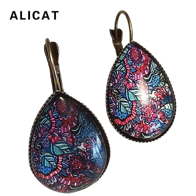 Large Metal Drop Earrings 2018 Fashion Boho Indian Ethnic Vintage Dangle  Pendant Earring Jewelry For Women edbae4204feb