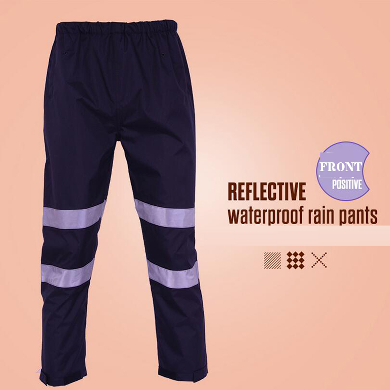 Hi vis hi viz Pants baggy Casual night running biker reflective pants parkour jogger outdoor casual harem cargo trousers drawstring contrast stripe jogger pants