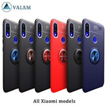 VALAM Finger Ring Stand Car Holder Case For Xiaomi Redmi Note 7 6 Pro Mi 9 8 SE lite Back Cover Silicone Case For Redmi 6 6A 7 ботинки betsy betsy be006awciei5