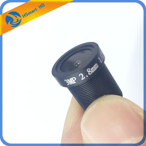 "Image 1 - Hd 1/2.5 ""2.8Mm 115 Graden Groothoek Cctv Ir 3MP Lens M12x0.5 Voor Veiligheid Ahd Tvi Sdi Cvi Ip camera"