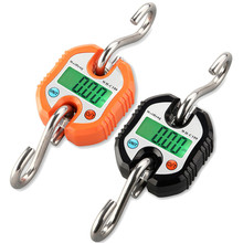 150KG Electronic Scale Durable Digital Hanging Hook Mini Portable Steelyard Weight Crane Weighing Scales Balance LED