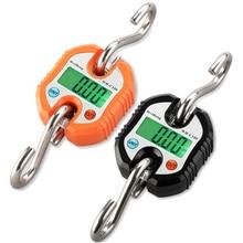 150KG Electronic font b Scale b font Durable Digital Hanging Hook Mini Portable Steelyard font b
