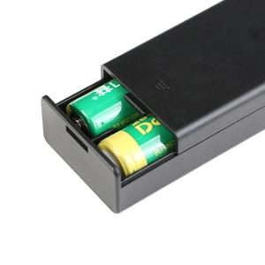 Image 3 - 2*18650 電池ボックスケースホルダーシリーズバッテリー収納ボックススイッチ & カバーdcプラグのための 2 × 18650 diy電池ホルダー
