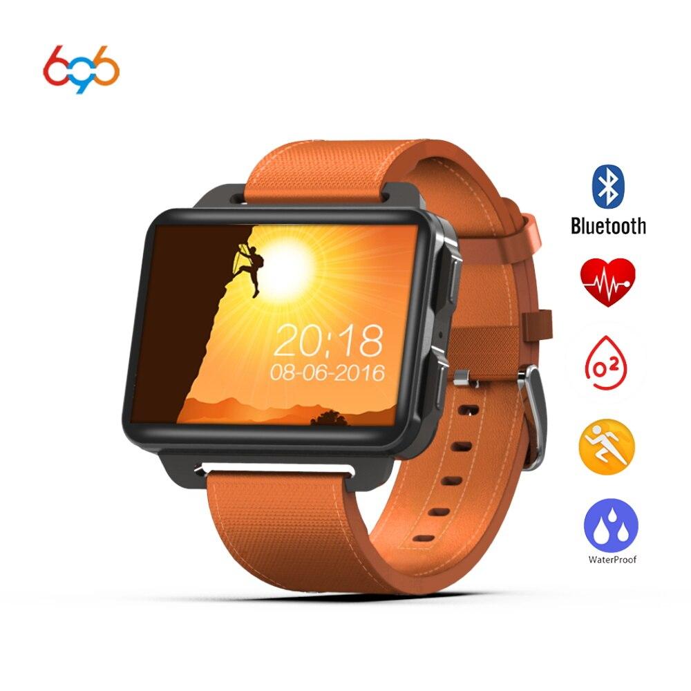 696 DM99 Смарт-часы 2,2 дюйма ips 320*240 экран Смарт часы 3g вызова 1.3MP Камера шагомер сердечного ритма для IOS $ Android