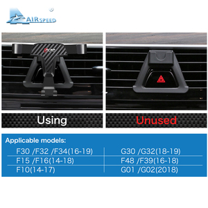 Image 5 - Airspeed Car Mobile Phone Holder Bracket Auto Special Mount for BMW F30 F32 F34 F10 F15 F16 F48 F39 G01 G30 G32 G02 Accessories