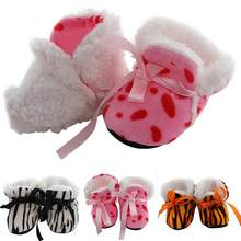 2018 New Popular 0-12 Months Baby Girl Newborn Winter Warm Boots Toddler Infant Soft Sole Shoes(China)