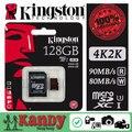 ПРОДАЖА Kingston карта micro sd карты памяти 128 ГБ class 3 UHS-I U3 microsd скорость 2 К 4 К видео DSLR DSLM картао де memoria tarjeta sd