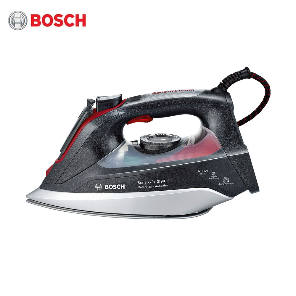 Electric Irons Bosch TDI903231A Steam stations SecureLock System Clean Easy Auto-shut-off secure free shipping fuel shut off solenoid 3934177 sa 4697 24 24v