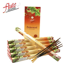 200 Sticks/Pack Cedarwood Fragrance Lax Cored Stick Incense Handmade From Indian Burning in Office For Therapy