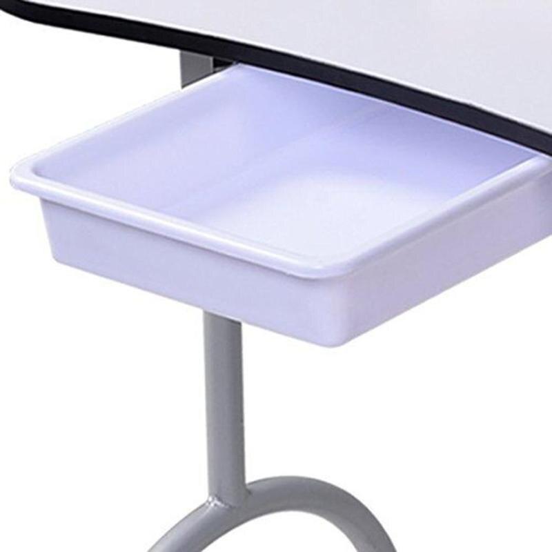 Портативный маникюрный Маникюрный Стол для ногтей, стол, спа-салон красоты, оборудование для ногтей, складной столик для ногтей, черно-белый