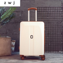 Bag Trolley-Case Wheel Carry-On Vintage ABS 20-22-24-26--Inch Universal
