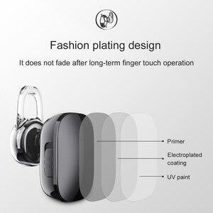 Image 4 - Baseus Encok אחת ב אוזן אוזניות מתכת כבד בס איכות צליל מוסיקה אוזניות מיני bluetooth אוזניות fone דה ouvido sem fio