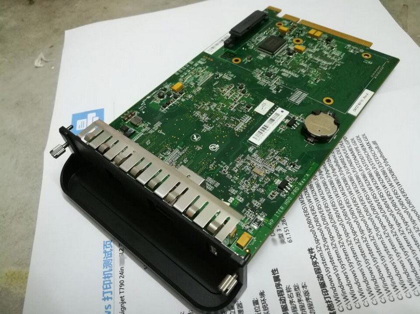 Formatter Card without HDD and control panel CR651-67005 CN727-67035 CN727-67042 for HP DesignJet Plotter T790/T1300/T2300 formatter board cn727 67035 cn727 60115 for designjet t790 t795 t1300 t2300 t790ps t795ps t1300ps main board plotter ink parts