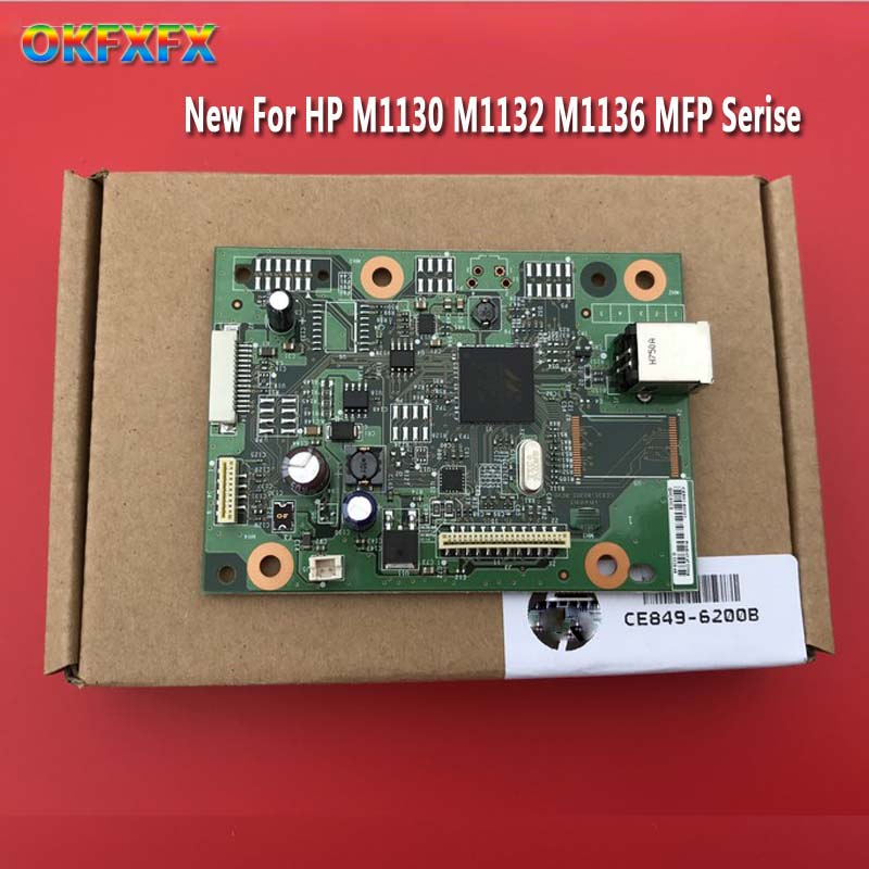 new CE831 60001 CB409 60001 CZ172 60001 Formatter Board For hp M1132 M1132NFP 1132 M1136 M1130 M125A M126A 1018 1020 MainBoard in Printer Parts from Computer Office