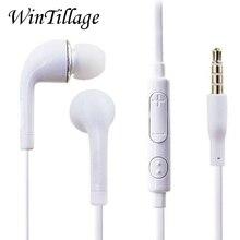 Fone de Ouvido Com Fio Fones de Ouvido Estéreo Super Bass 3.5mm Esporte Fone de Ouvido com Microfone para iPhone Xiaomi Huawei Sony Samsung S6 s7 S8 S9