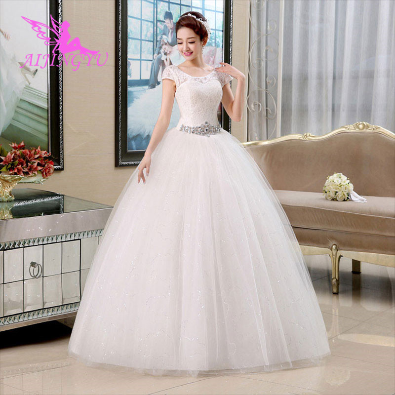 Shop Wedding Gowns: AIJINGYU Dresses Wedding Dress Bridal Shop Online China