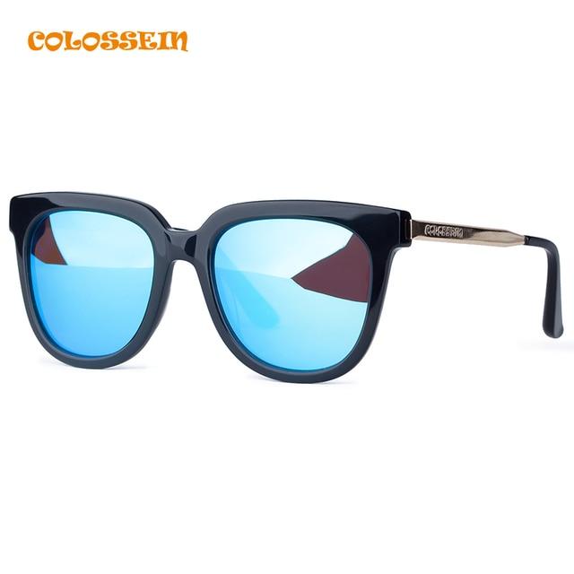 7902a5ac6a COLISEO OrangeLabel gafas de Sol Hombres Mujeres Ronda Retro Gafas con  Lentes Gafas de Moda Viajar