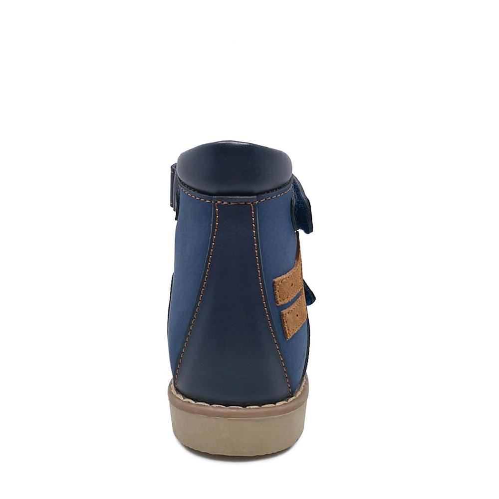 ORTHOFIT Crna Dječja kožna sandala Zatvorena peta Djeca Ortopedske - Dječja obuća - Foto 4