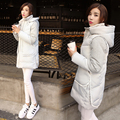 2016 Winter Women Coats Jacket Down Thickening Female Warm Clothes Hooded Plus Size Down Parkas With Fur Collar manteau femme