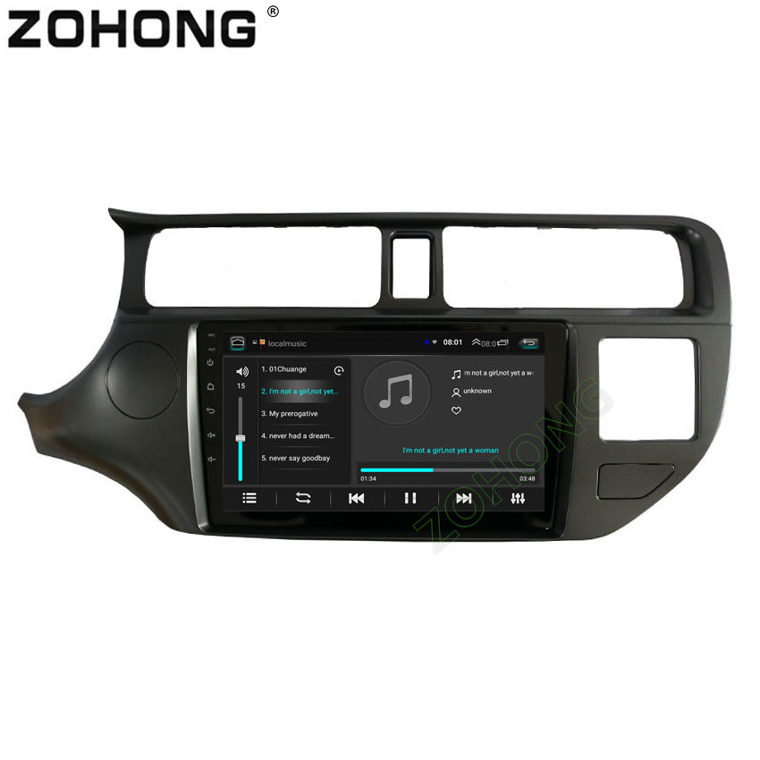 9 inch 2 5D Android CAR GPS for KIA K3 RIO 2014 2013 2012 2011 Car
