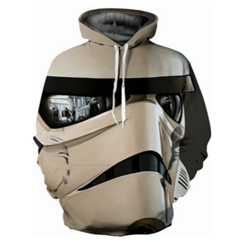 CFYH Plus Size 2018 New Star War 3D Hoodie Cool Print Sweatshirt Fashion Game/Movie Super Hero Hooded Men/Women Sweatshirt Tops