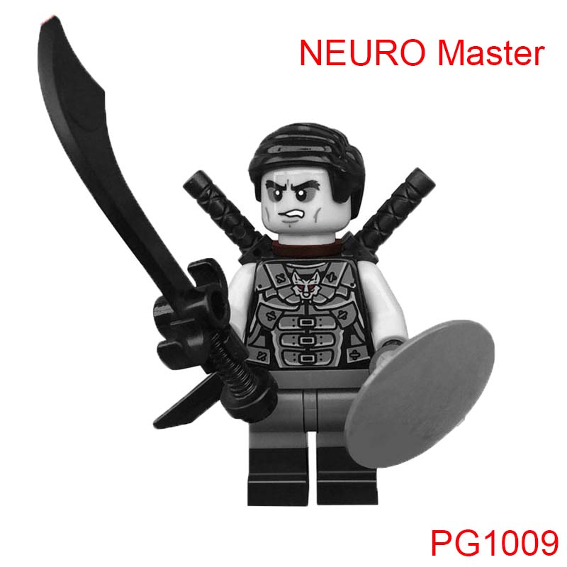 Building Blocks Neuro Master Ninja Figure Single Sale Sensei Wu Kapau Jay Kai Skylor Lloyd Zane Action Bricks Toys For Children free shipping in stock new arrival english version ds 2cd2142fwd iws 4mp wdr fixed dome with wifi network camera