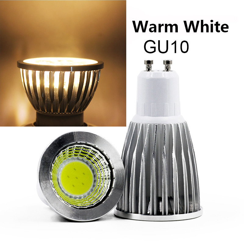ZjRight AC85-265V GU10 GU5.3 E27 E14 LED spotlights 3W 5W 7W 9W COB process Cold white LED lighting lamp for home office library