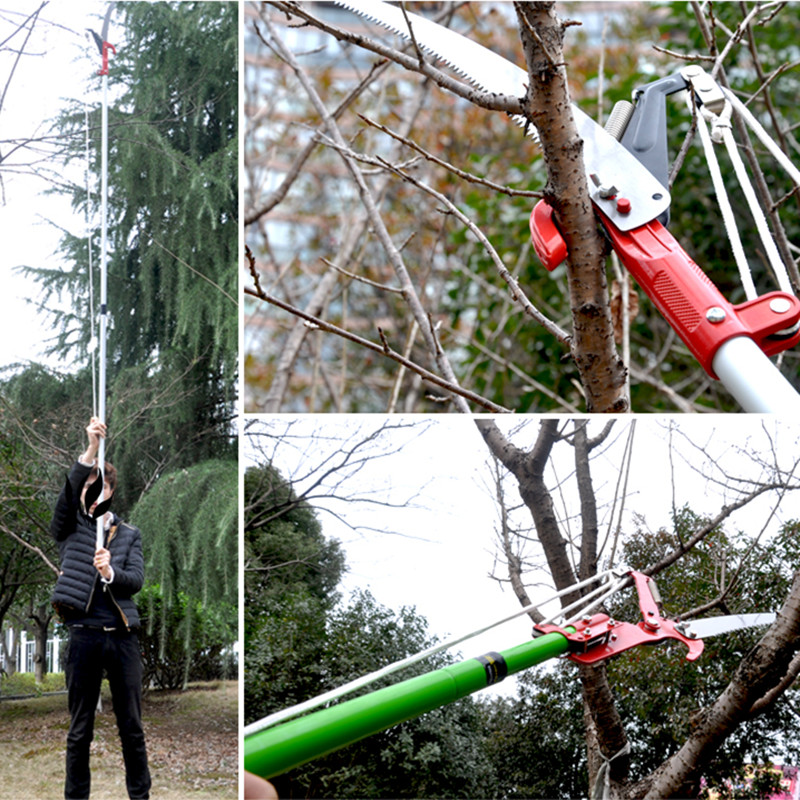 Aluminum head saws scissors gardening high altitude for Big scissors for gardening