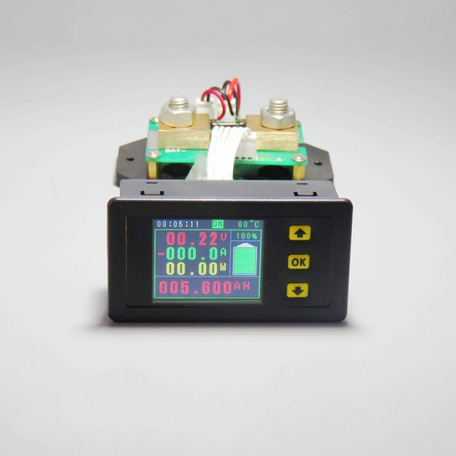 DC 120 v 100A 200A 500A LCD Combo Meter Spannung strom KWh Watt ...