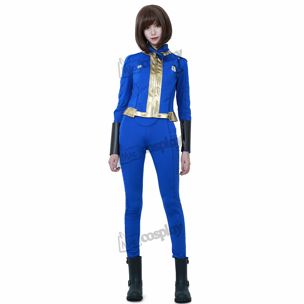 Anime Female Sole Survivor Nora Cosplay Costume Halloween Party Abbigliamento