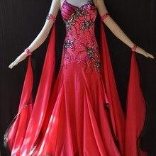 KAKA ТАНЕЦ B1443, новые Бальные Стандартный платье для танцев/Одежда, Вальс Конкурс платье, Для женщин, бальные платье для танцев, женское платье