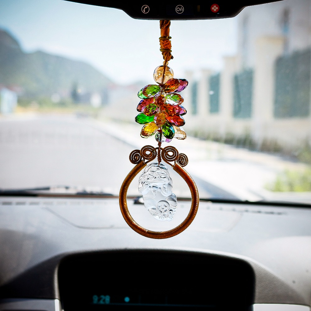 accessories charm essential mirror sweet car rear hanging pendant heart pin view boho