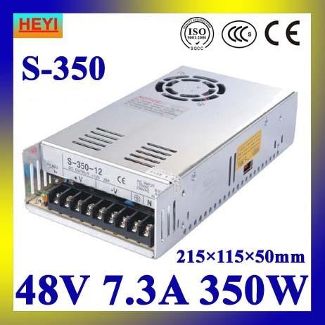 LED power supply  48V 7.3A 100~120V/200~240V AC input single output switching power supply 350W 48V transformer led power supply 15v 40a 100 120v 200 240v ac input single output switching power supply 600w 15v transformer