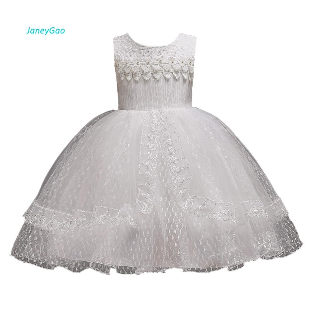 Janeygao Flower Girl Dresses For Wedding Party Little Girl First