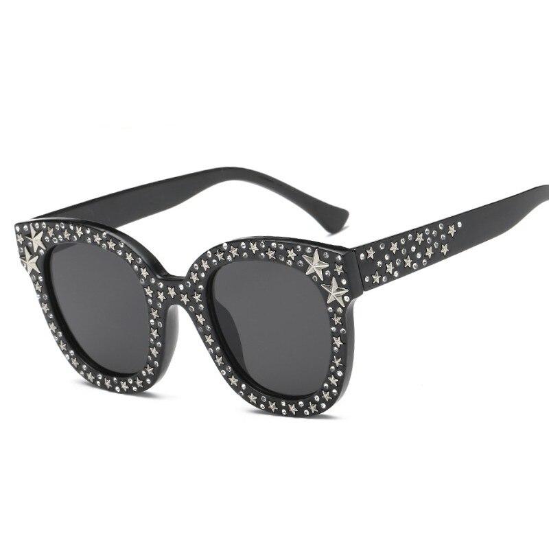 À la mode G Diamant Crystal Star lunettes de Soleil Pour Femmes Carré  Marque Lunettes Designer lunettes de soleil teintées Femme Shades UV  Protection dans ... 746291686d25