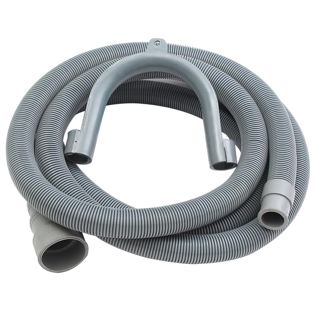 2 5m Machine Dishwasher Drain Hose Extension Washing Pipe With Bracket Set Home Universal Kitchen Drainage