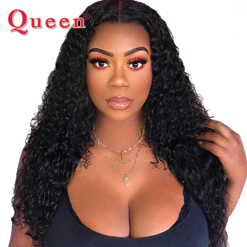13 4 Kinky Curly Lace Front Human Hair Wigs For Women With Baby Hair Brazilian Remy