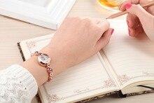 2017 New Kimio Brand Ladies Dress Crystal Wristwatch With Elegant Bracelet And Luxury Rhinestone Diamonds
