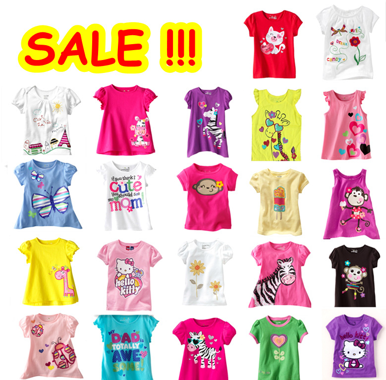 Aliexpress.com : Buy sale Retail brand 2016 kids tshirts clothing ...
