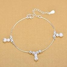 925 серебряные браслеты с тыквой модные Очаровательные Браслеты