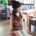 new fake Deerskin baby girls clothes autumn winter children's jacket kids boys party costume unisex girls vest