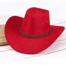 Модная Женская Ковбойская шляпа от солнца, летняя повседневная шляпа из искусственной кожи, шляпа для путешествий в западном стиле, уличная Кепка