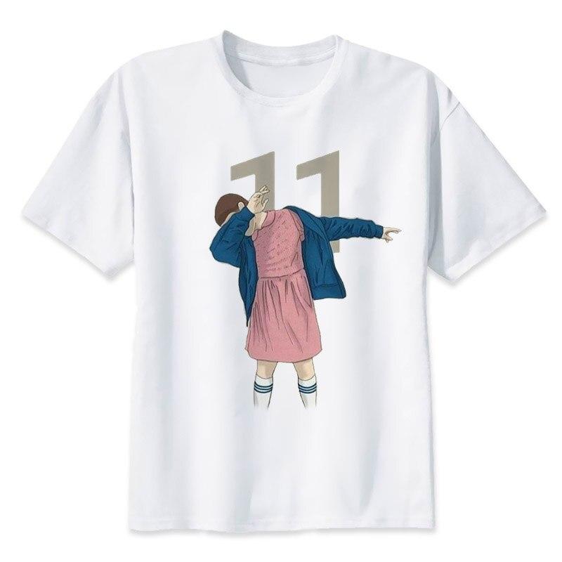 Stranger cose undici demogorgon a testa in giù t-shirt maschio uomini di Modo divertente t-shirt tee top camicia maschile uomo S-3XL