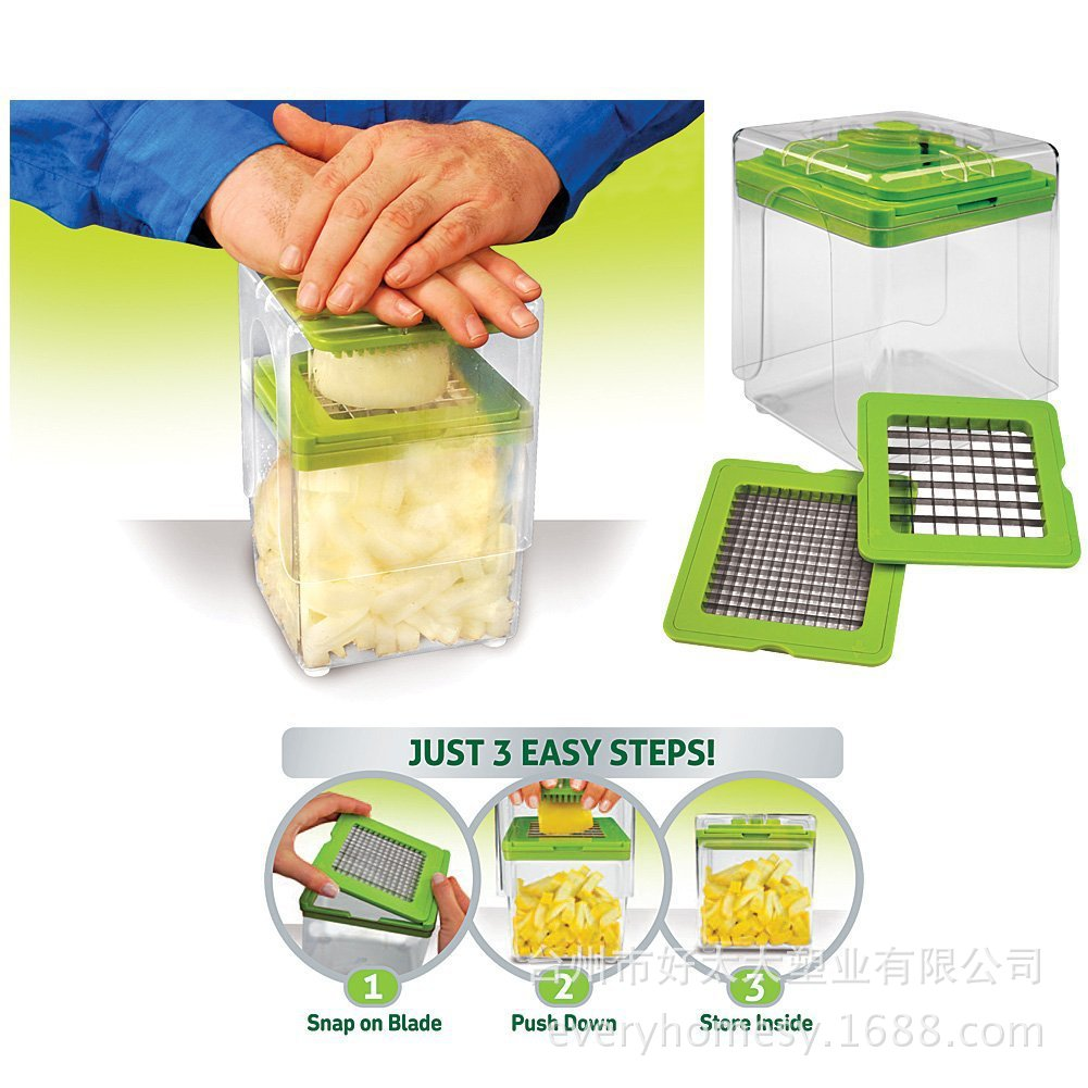 Charming Kitchen Magic Reviews #5: New Chop MAGIC Creative Fruit And Vegetable Tool Salad Partitioning Tool Convenient Shredder Utility Kitchen Chopper