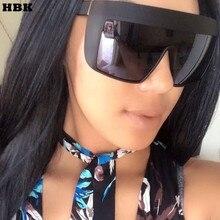 Classic Pilot Oversized Flat Top Sunglasses Women Vintage Le