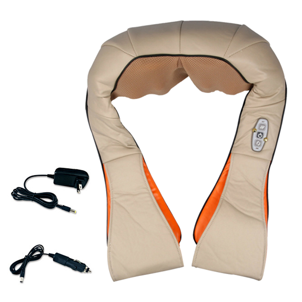 Car/home Portable Multi-functional Infrared Kneading Shiatsu Massage PillowCar/home Portable Multi-functional Infrared Kneading Shiatsu Massage Pillow