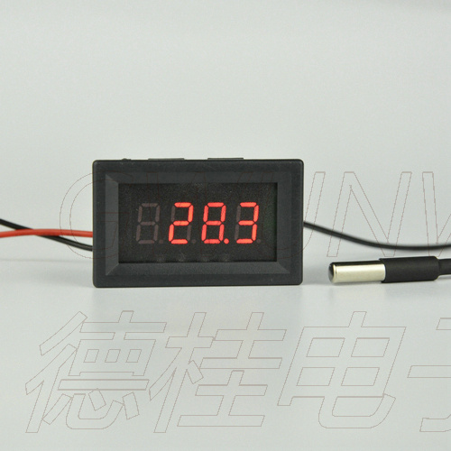 Gwunw By436bj Dc0-50a Digit Ammeter Current Panel Meter Upper Limit Lower Limit Alarm Function Buzzer Output Control Voltage Tools