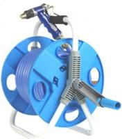 Portable Handy HOSE REEL Garden Hose Reels with water gun and water band